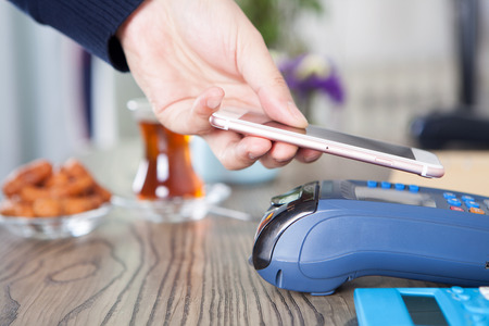 Scavenging payment Stock Photo