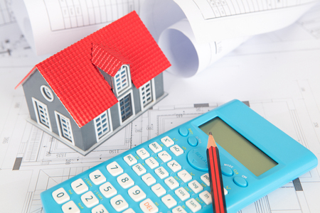 Building cost budget concept