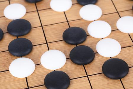 Chinese go game Stok Fotoğraf