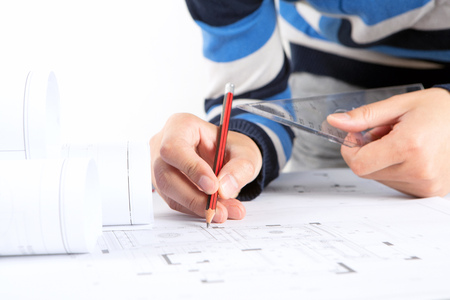 Revising the construction drawings