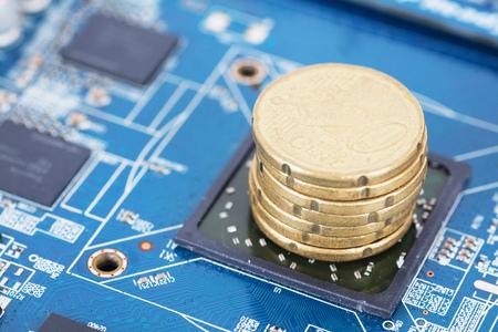 Chip development Banco de Imagens - 101476781