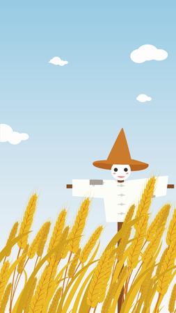 Autumn harvest Illustration