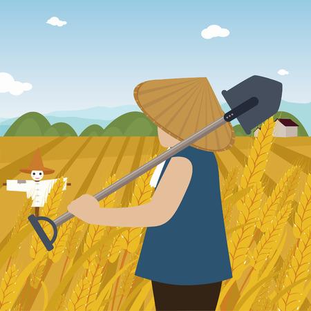 Autumn harvest Ilustrace
