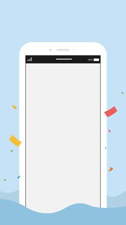 Mobile phone model 写真素材 - 102894886