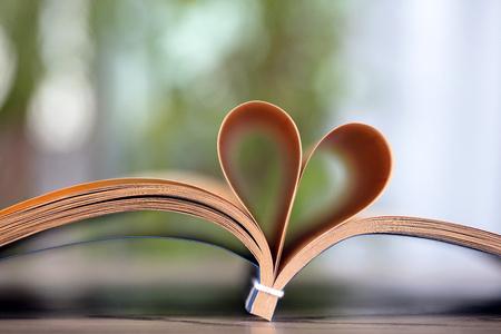 A Book of love Foto de archivo