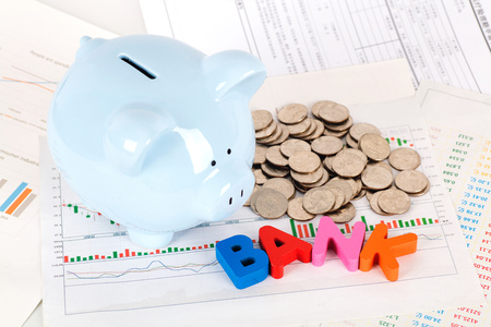Investment and financial management Stock Photo