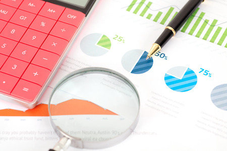 Financial data analysis scenario Imagens