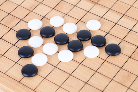 Chinese Go game