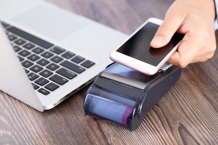 Mobile phone convenient payment scenario