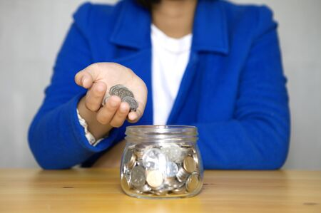 Save money at glass jar