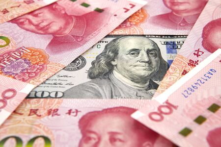 China-US Currency War concept