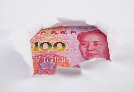currency concept, renminbi