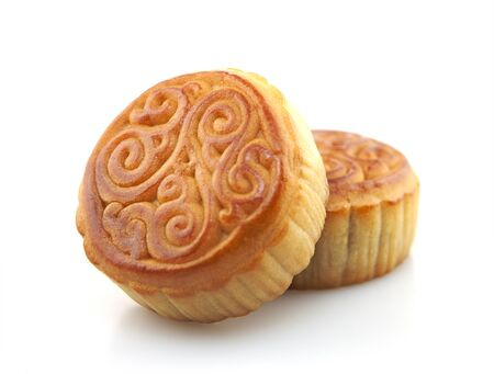 Two moon cakes