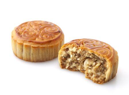 Moon cakes , refreshments of mid autumn festival
