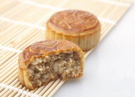 Moon cakes, refreshments of mid autumn festival