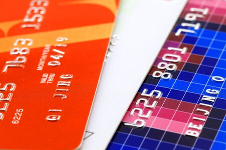 Three credit cards