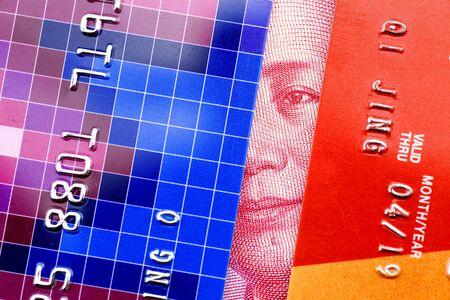 Renminbi with bank card