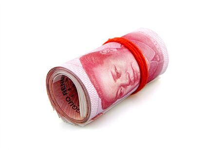 A roll of RMB