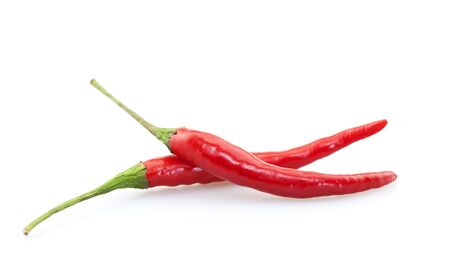 Two red peppers 版權商用圖片