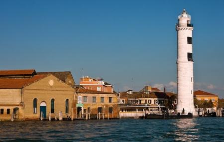 murano: Murano Lighthouse. Venice.
