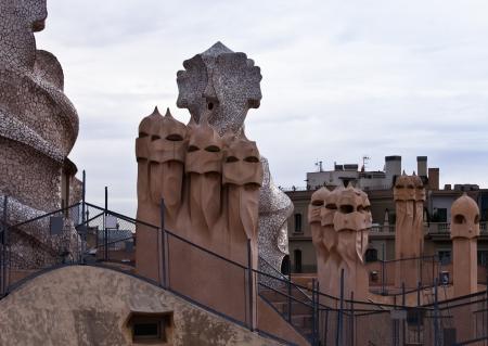 Casa Mila La Pedrera Antonio Gaudi