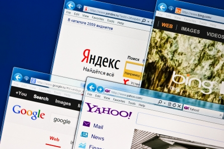 Open sites of SEO Yandex, Google, Bing, Yahoo