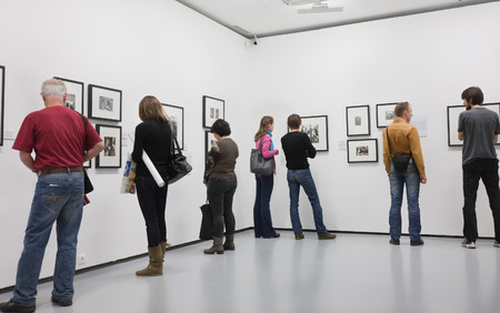 At the exhibition  Moscow House of Photography  Editorial
