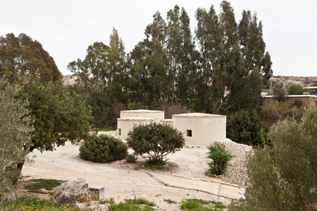 neolithic: Poblado neol�tico en Chipre Choirokoitia