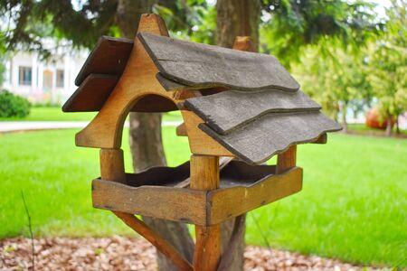 Nesting box in the park. 写真素材