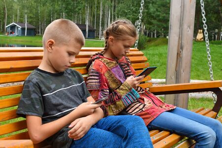 Disease from gadgets. Children and gadgets forever. Computer and telephone addiction of children.