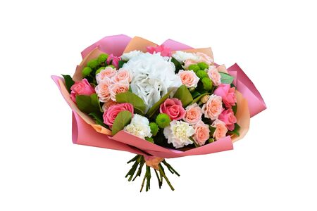 Flowers for mothers day and womens day. Original bouquet in beautiful package.