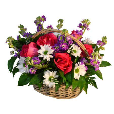 Un mazzo di fiori per un negozio di fiori.