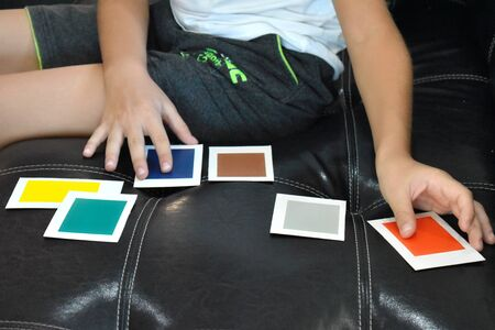 A medical examination by a psychologist. Guessing the color of the card. A child with unique abilities.