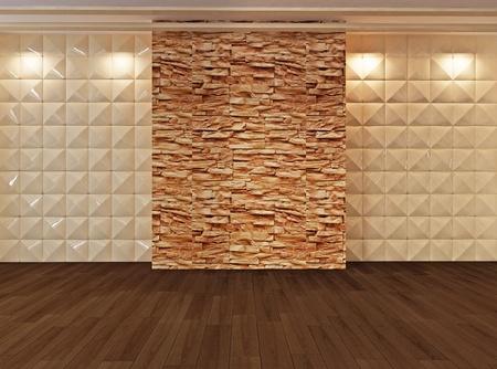 parquet floors: Spazio vuoto interiore, appartamento Galleria