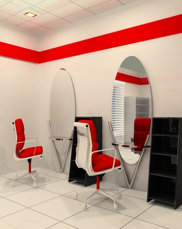 Workplace in salon of beauty Stock Photo - 10292312