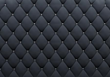 blue leather sofa: Modello. Trama abbottonato. Sfondo di lusso