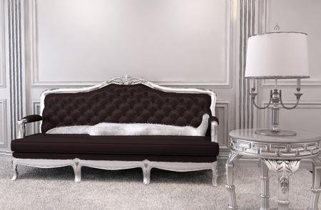 sofa upholstery foto royalty free, immagini, immagini e archivi ... - Luxe Reale Grande Divano Ad Angolo Set