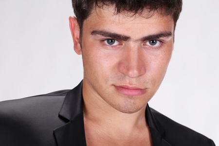 tempter: Portrait of a handsome muscular young man.