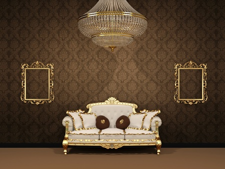 Royal luxury inter space apartment Stock Photo - 11405410