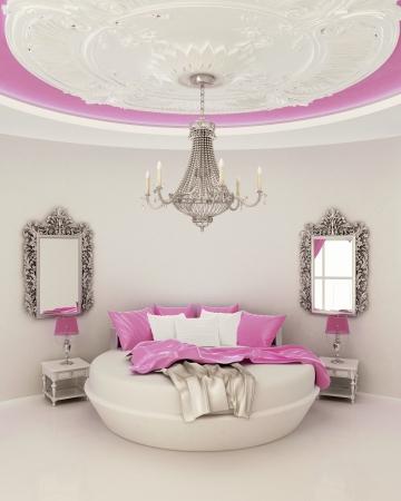 chambre � coucher: d�cor du plafond dans la chambre � coucher moderne