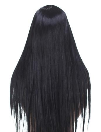 Beautiful Brunette Girl. Healthy Long Hair