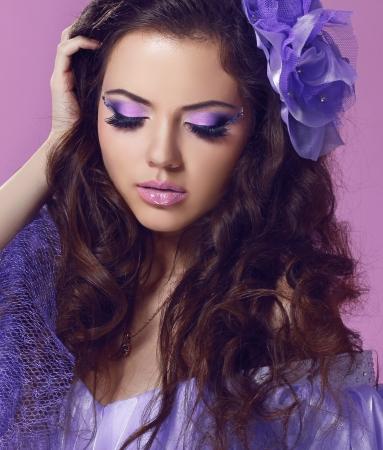 Portrait of perfect female beauty woman Stock Photo - 17314458
