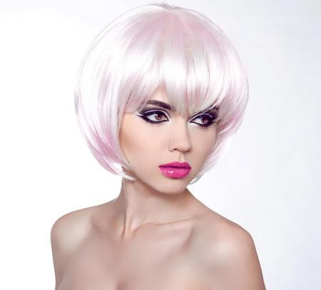 Fashion Portrait Of Beautiful Girl photo