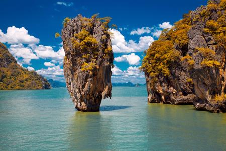 james: Island in Phang Nga Bay, Thailand Stock Photo