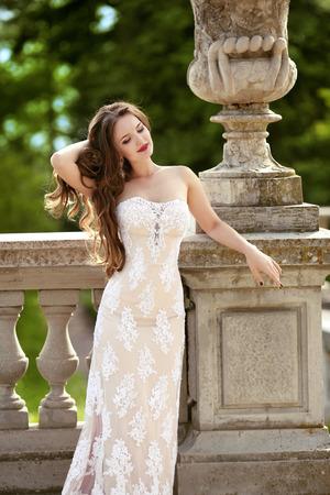 Schöne Braut Hochzeit Porträt, Mode-Stil Foto. Art Und Weise ...