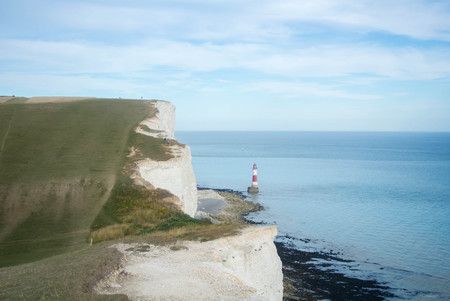 Seven Sisters country park and Beachy Head lighthouse