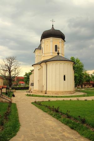 moldova: Cathedral Capriana in Moldova  Stock Photo