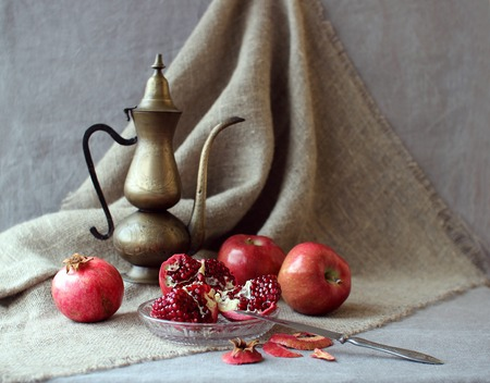 rarity: Still life with fruit and a kettle rarity.