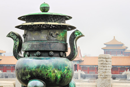 Forbidden City, Beijing, China -- the Chinese imperial palace from the Ming Dynasty to the end of the Qing Dynasty