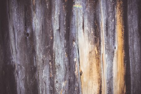Old Vintage Grey Wooden Grunge Surface. Brown Planks Background and Texture.